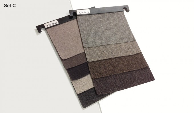 Khobus Fabric Samples - Set C