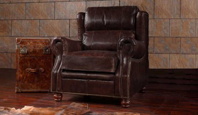 Landsdowne Antique Leather - Armchair