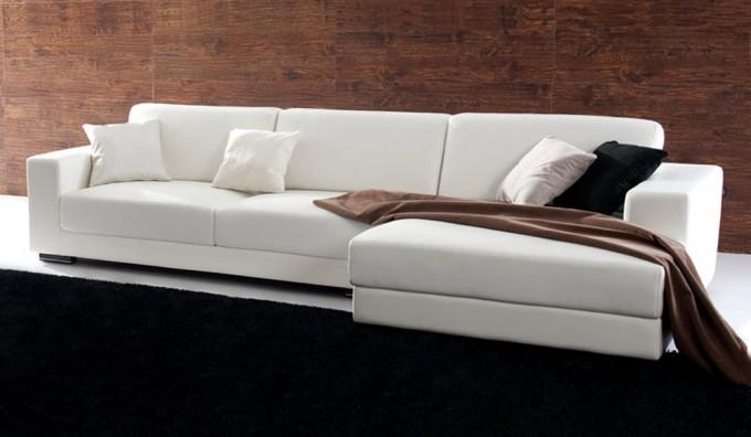 Mac Leather Corner Sofa