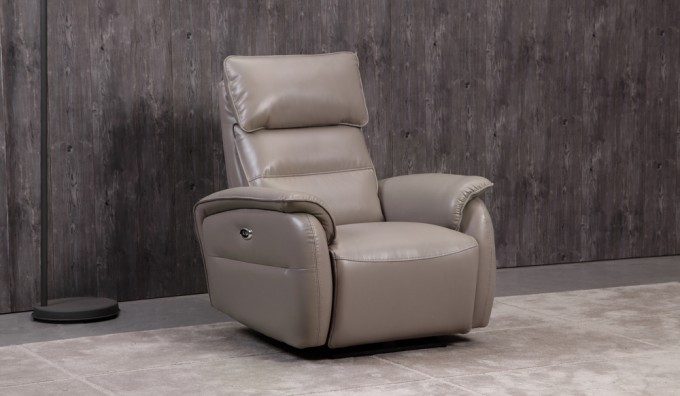 Malmo Cream Recliner Armchair