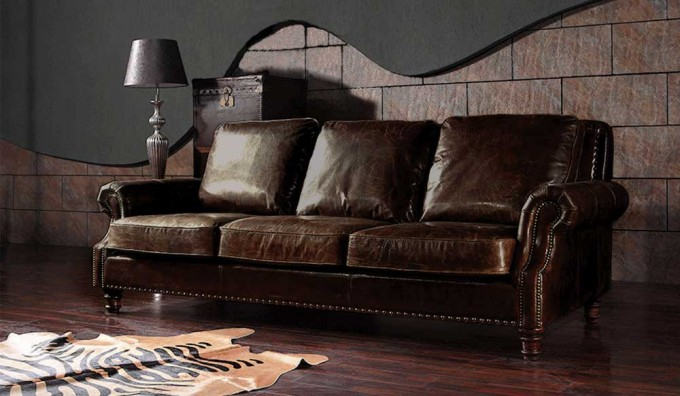 Marlebone Vintage Leather - 3 Seater Sofa