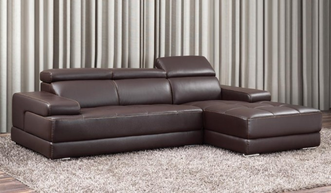 Massimo Leather Corner Sofa
