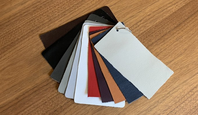 Monze (Brand) 1.1.-1.3mm Leather Samples