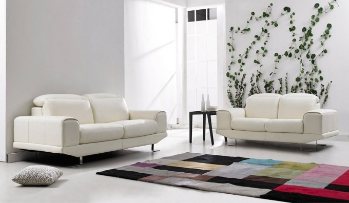 Nero 2 Seater Leather Sofa