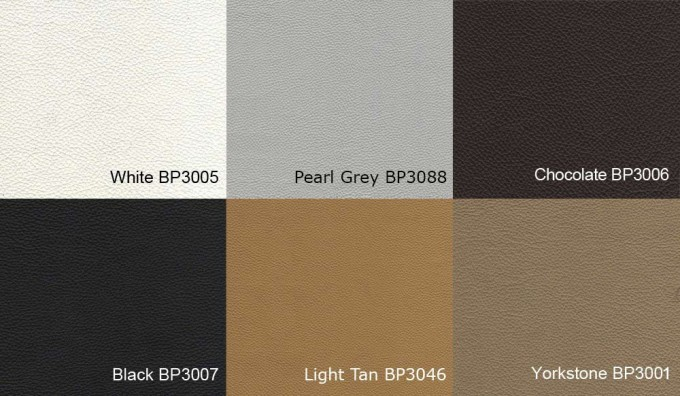 Novena (Brand) Leather Samples