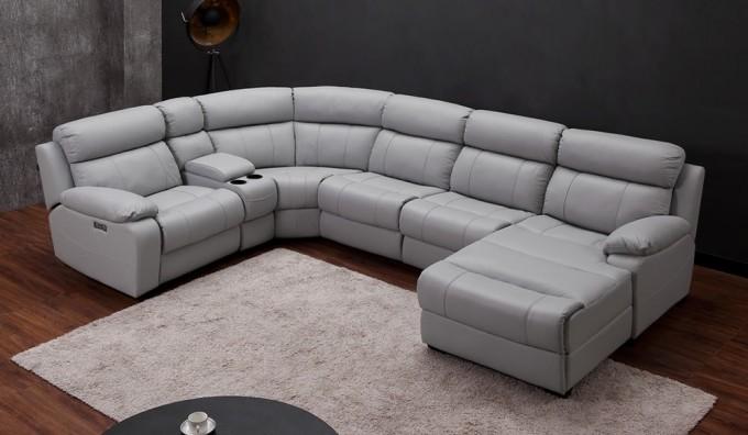 Novell U-Shape Recliner Sofa