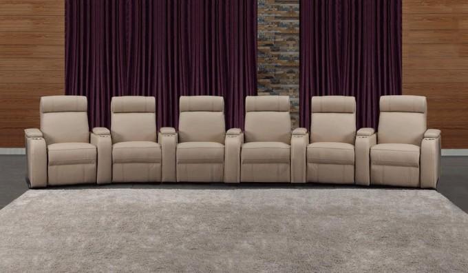 Paramount + 6 Home Cinema Seating