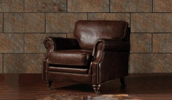 Portland Vintage Leather - Armchair
