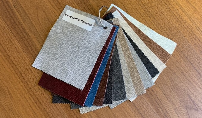 H&W (Brand) Leather Samples
