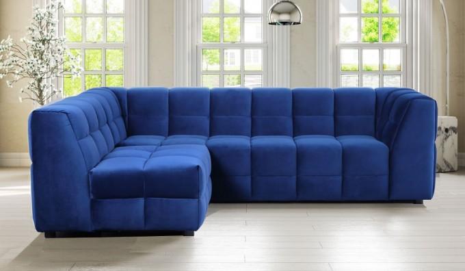 Squidoo Velvet Corner Sofa