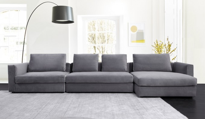 Tonini Large L Shape Sofa