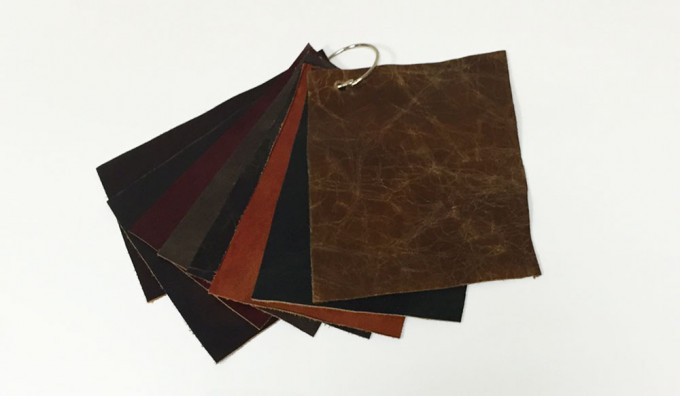Charleston (Brand) Leather Samples