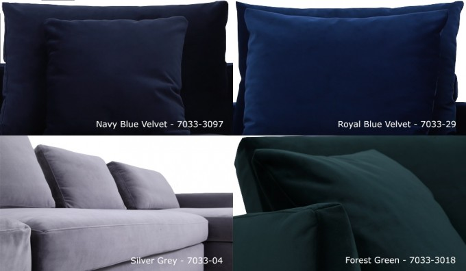 Novatex Velvet Samples
