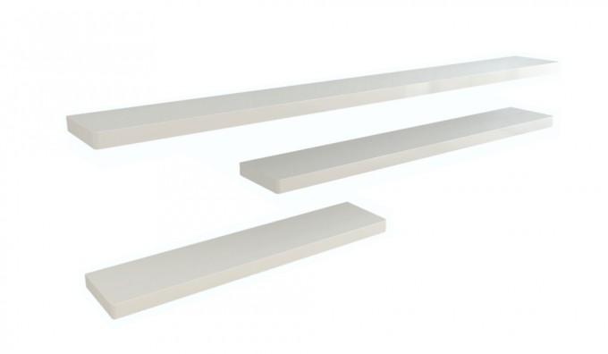 Ikon Floating Shelf - 166cm - White