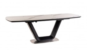 Modena Ceramic Grey Extending Dining Table