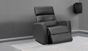 Atlas Leather Armchair