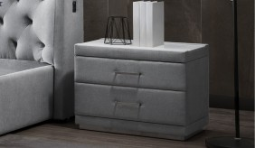 Corinthia Upholstered Bedside Table