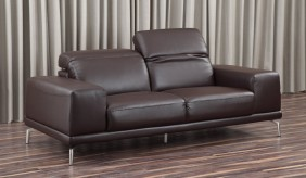 Boheme Leather 3 Seater Sofa