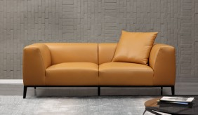Bravas Leather 2 Seater Sofa
