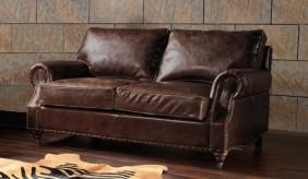 Burlington Antique Leather - 2 Seater Sofa