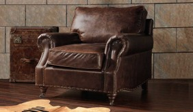 Burlington Antique Leather - Armchair