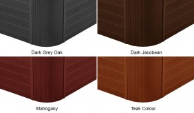 Hot Tub Cabinet Colours