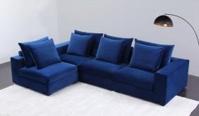 Camargue Velvet Modular Sofa