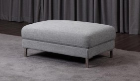 Clio Fabric Footstool