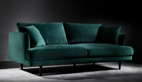 Hampstead Velvet Large 2 Seater Sofa