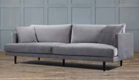 Hampstead Velvet Large 3 Seater Sofa
