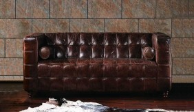 Hanover Vintage Leather - 2 Seater Sofa