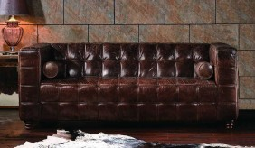 Hanover Vintage Leather - 3 Seater Sofa