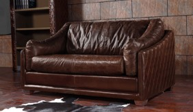 Hoxton Vintage Leather - 2 Seater Sofa