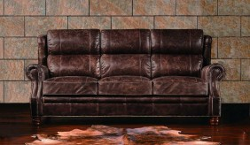 Landsdowne Antique Leather - 3 Seater Sofa