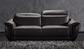 Marco 3 Seater Leather Sofa