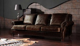Marlebone Vintage Leather - 3 Seater Sofa