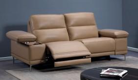 Martino 3 Seater Leather Sofa