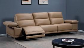 Martino 4 Seater Leather Sofa