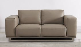 Mobo 2 Seater Leather Sofa