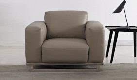 Mobo Leather Armchair
