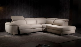 Monza Electric Recliner Corner Sofa