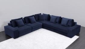 Munich Velvet Modular Sofa