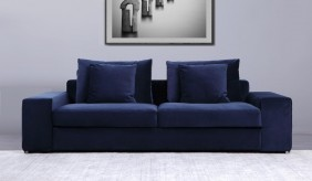 Munich 2 Seater Velvet Sofa