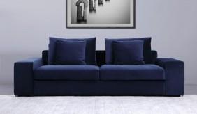 Munich 2 Seater Velvet Sofa