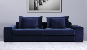 Munich 3 Seater Velvet Sofa