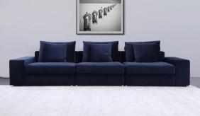 Munich 4 Seater Velvet Sofa
