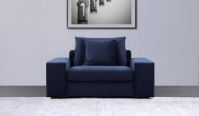 Munich Velvet Armchair