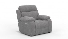 Novell Faux Suede Recliner Armchair