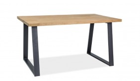 Norden Oak 150 Dining Table