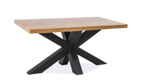 Kryss Oak 150 Dining Table